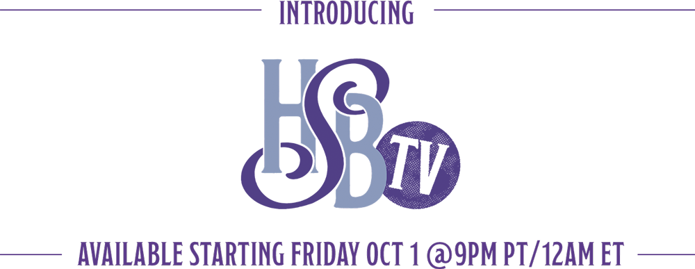 Introducing Hardly Strictly Bluegrass TV - Available starting Friday Oct 1 @ 9pm PT / 12AM ET